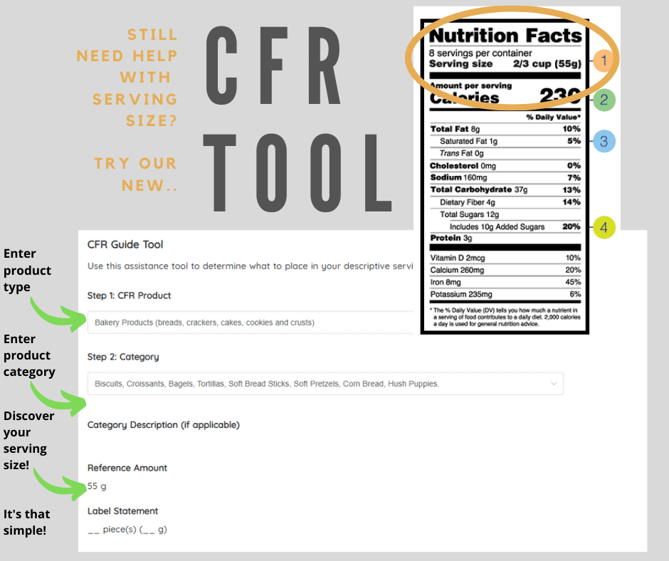 nutrition facts for bulk recipes