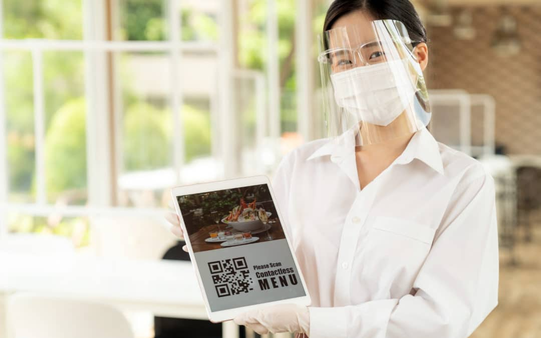 How to Use QR Codes to Create a Contact-less Menu
